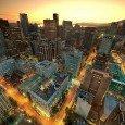 La down town di Vancouver
