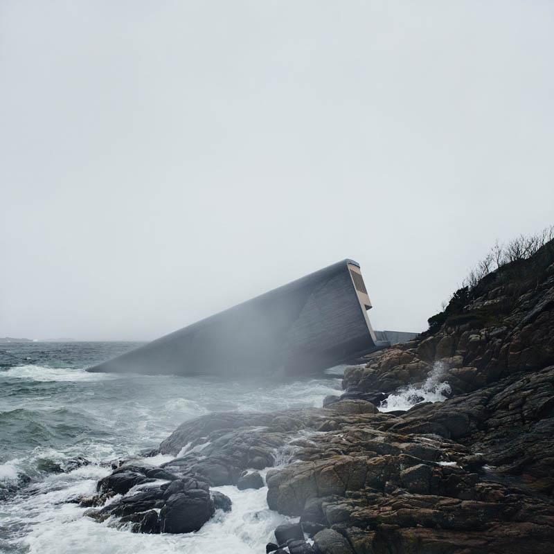 ristorante-subacqueo-under-norvegia-entrata
